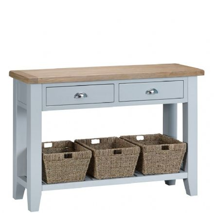 Toulouse Grey Large Console Table